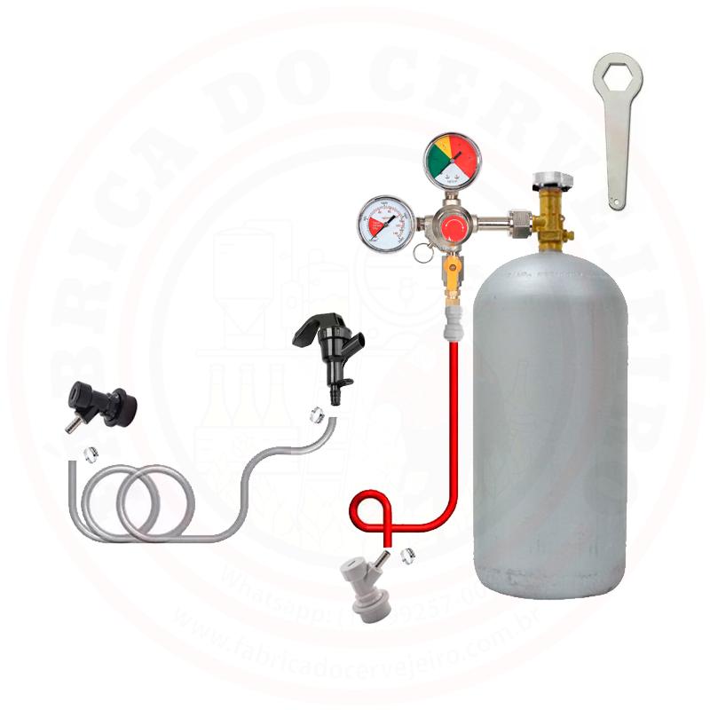 KIT EXTRACAO DO POSTMIX COM PICNIC E CILINDRO CO2