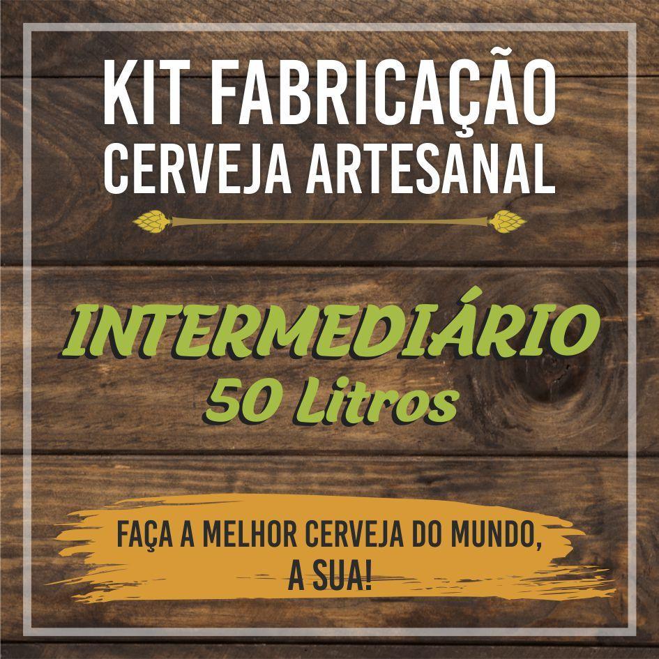 Kit Intermediário de Fabricação de Cerveja para 50L - Bazooka