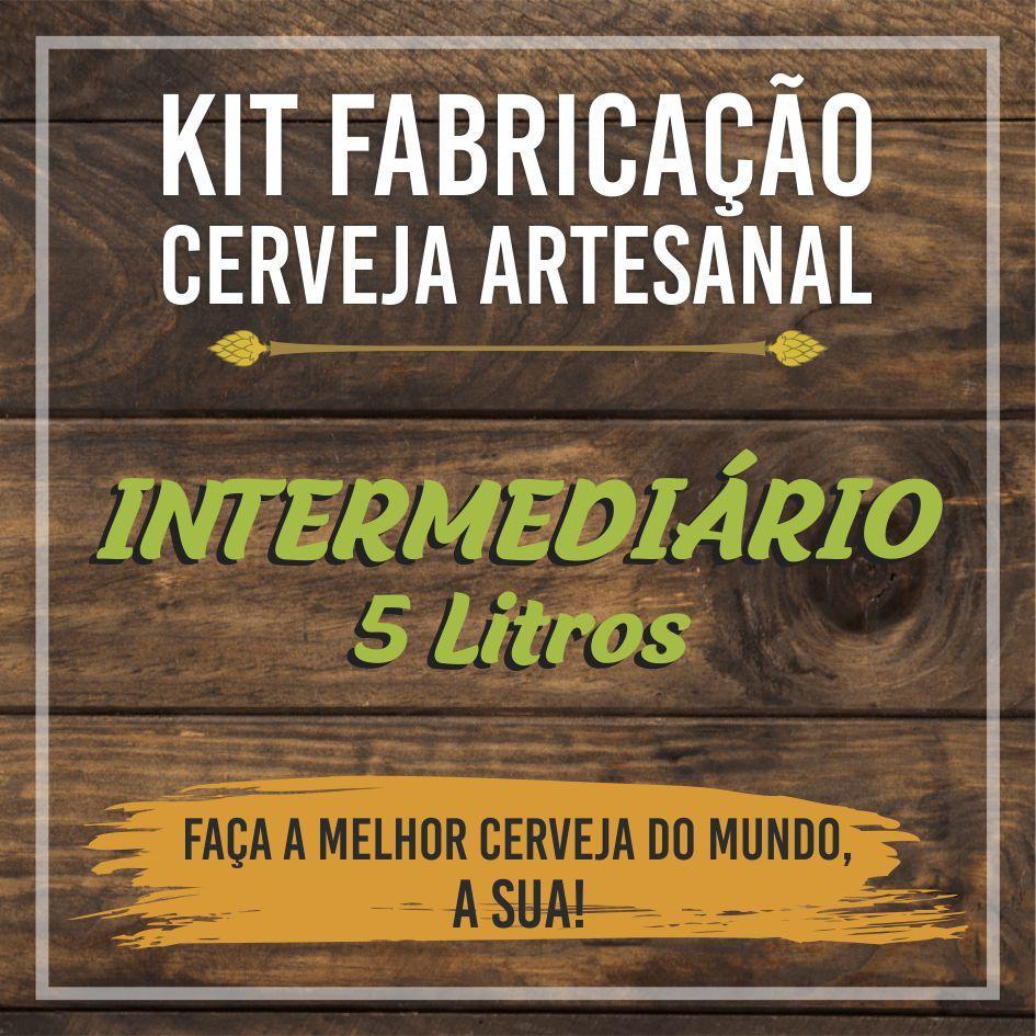 Kit Intermediário de Fabricação de Cerveja para 5L - BIAB