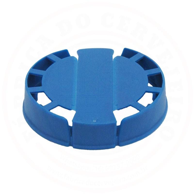 Lacre p/ Barril de Inox Kegcap Azul
