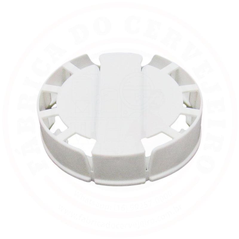 Lacre p/ Barril de Inox Kegcap Branco