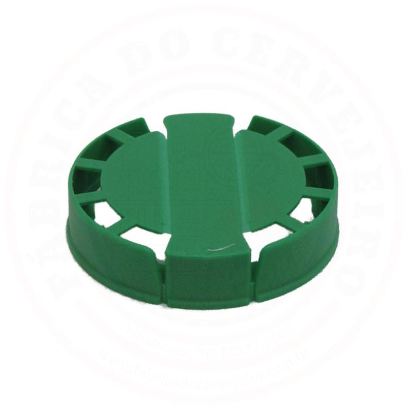 Lacre p/ Barril de Inox Kegcap Verde