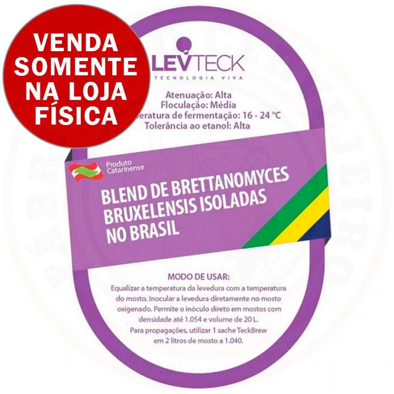 Levedura Levteck  Blend de Brettanomyces Bruxelensis isoladas no Brasil