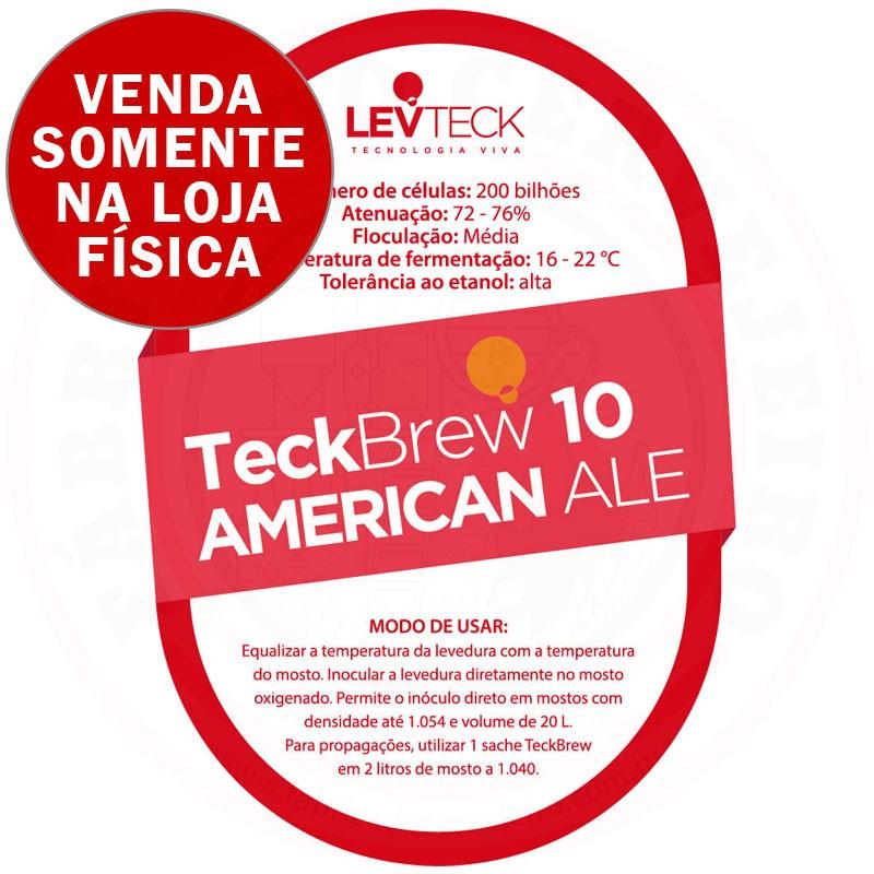Levedura Levteck Teckbrew 10 American Ale para 20 Litros