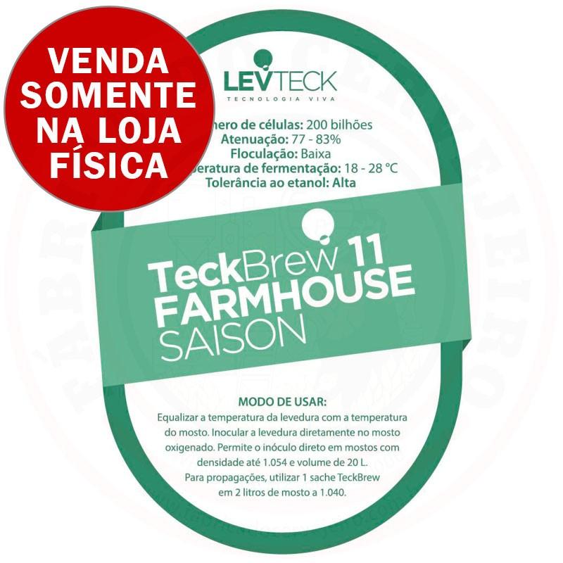 Levedura Levteck Teckbrew 11 Farmhouse Saison para 20 Litros
