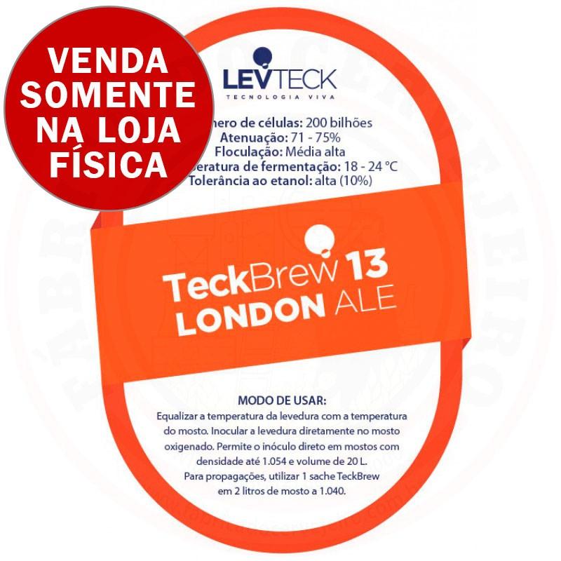 Levedura Levteck Teckbrew 13 London Ale para 20 Litros
