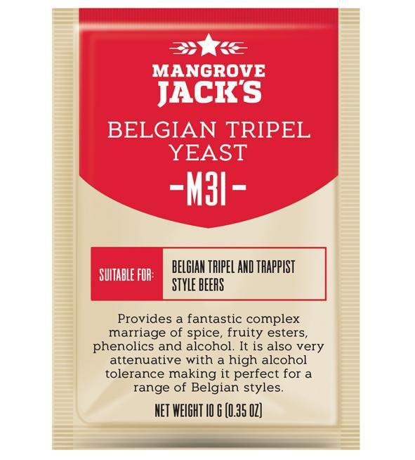 Levedura M31 Belgian Tripel Mangrove Jack's
