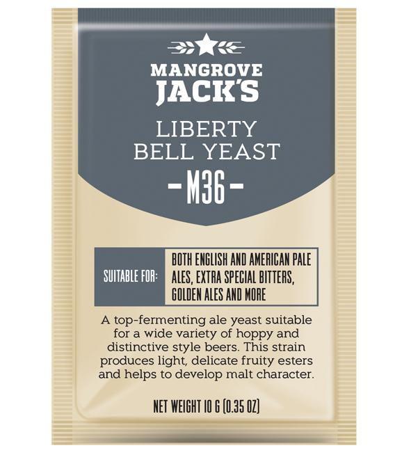 Levedura M36 Liberty Bell Mangrove Jack's