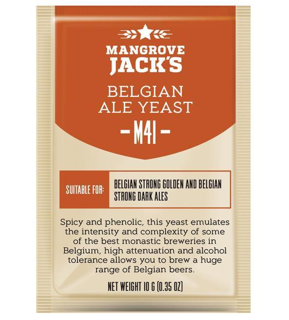 Levedura M41 Belgian Ale Mangrove Jack's