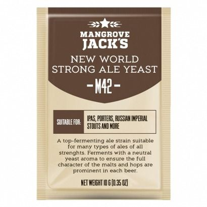 Levedura M42 New World Strong Ale Mangrove Jack's