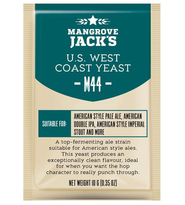 Levedura M44 U.S. West Coast Mangrove Jack's