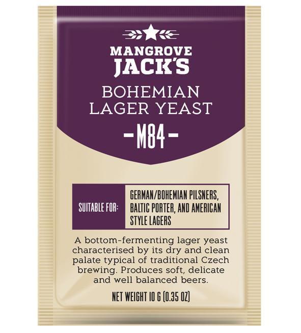 Levedura M84 Bohemian Lager Mangrove Jack's