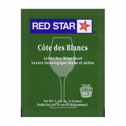 Levedura Red Star Côte des Blanc