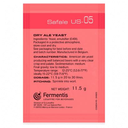 Levedura US05 Fermentis - us 05