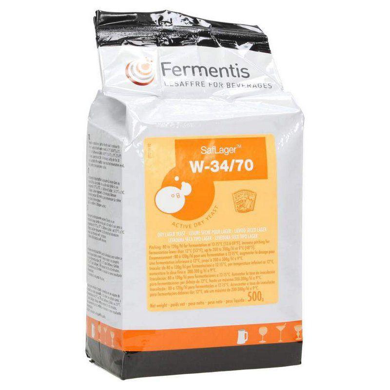Levedura W 34/70 Fermentis Lager 500g
