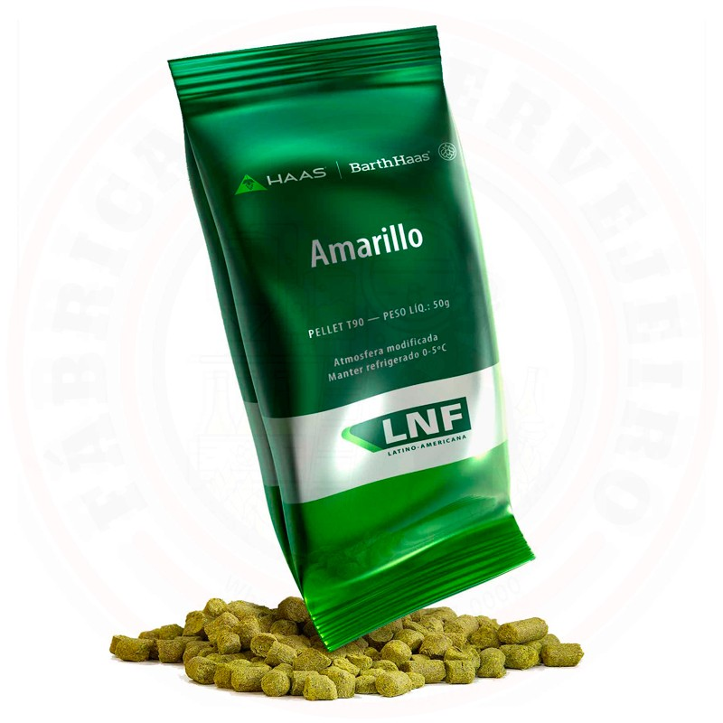 Lúpulo Amarillo LNF 50g