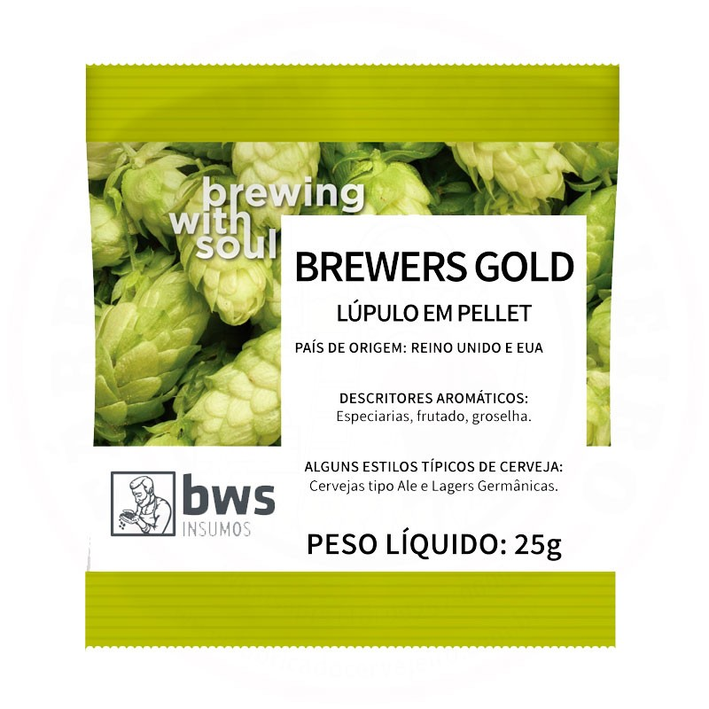 Lúpulo Brewers Gold 25g