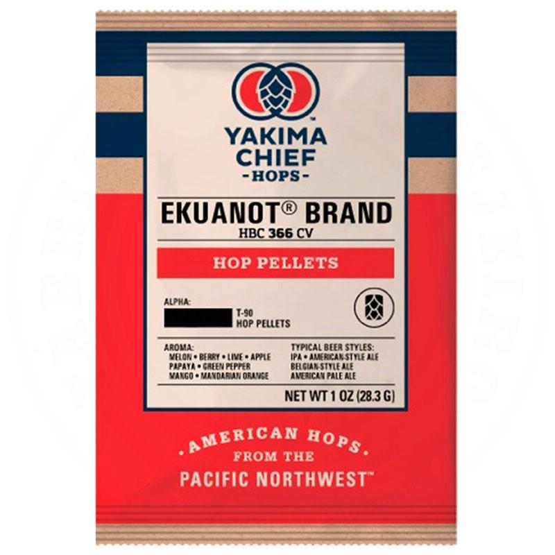 Lúpulo Ekuanot Yakima Chief Hops 28,3g