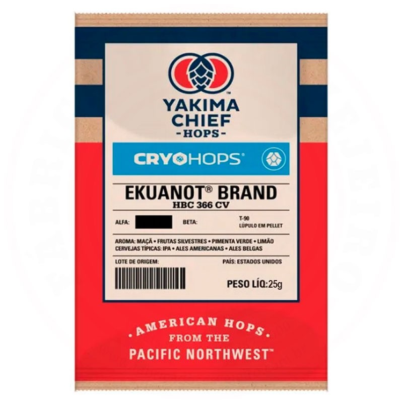 Lúpulo Ekuanot CRYO HOPS Yakima Chief Hops 25g