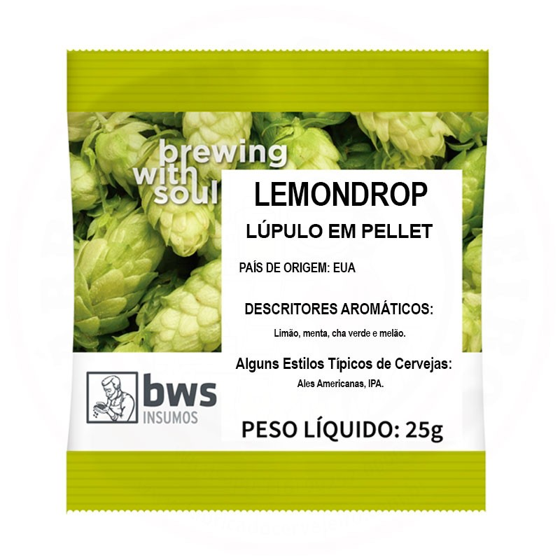 Lúpulo Lemondrop 25g
