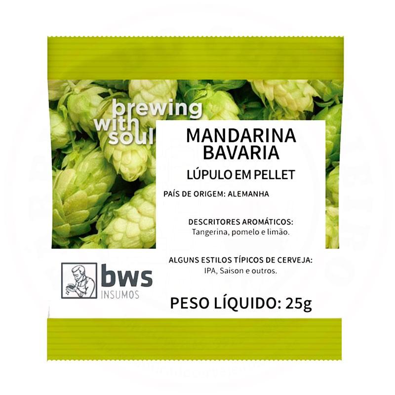 Lúpulo Mandarina Bavaria 25g