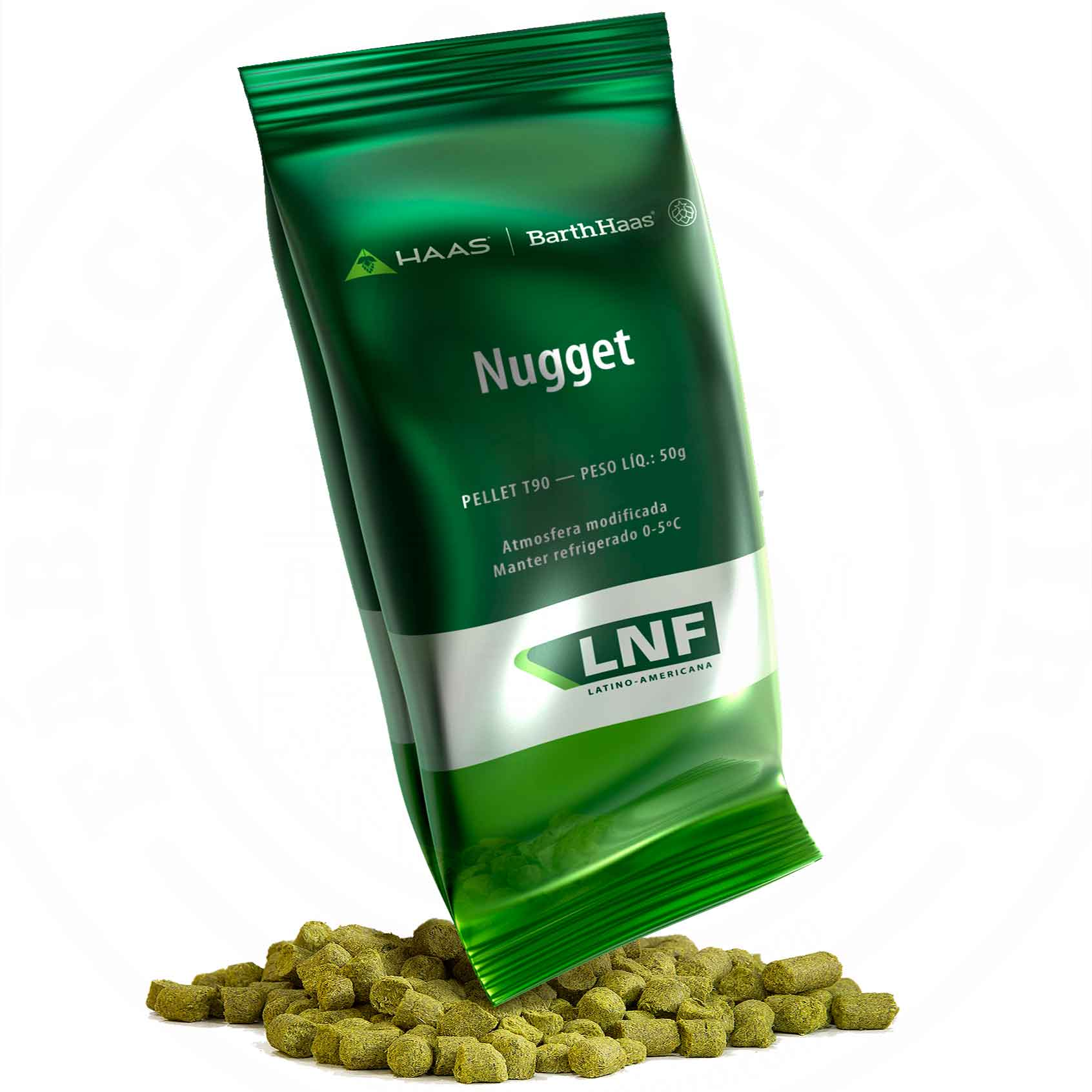 Lúpulo Nugget LNF 50g