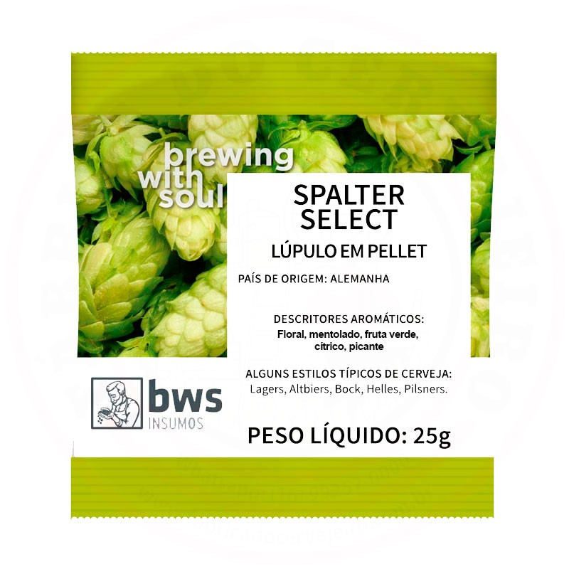 Lúpulo Spalter Select 25g