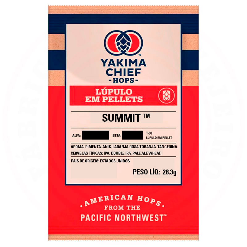 Lúpulo Summit Yakima Chief Hops 28,3g