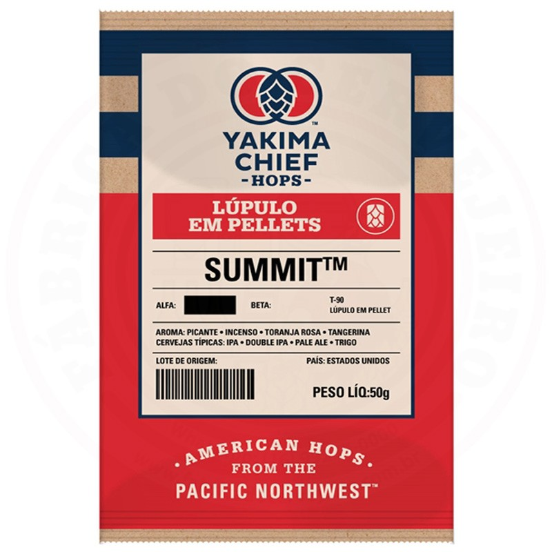 Lúpulo Summit Yakima Chief Hops 50g