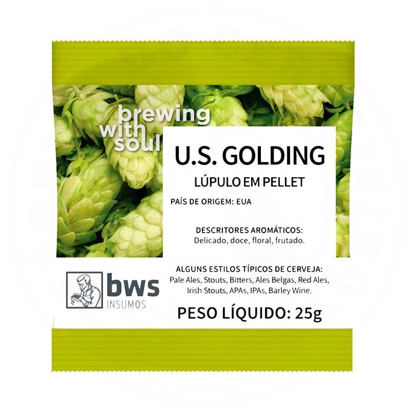 Lúpulo U.S. Golding 25g