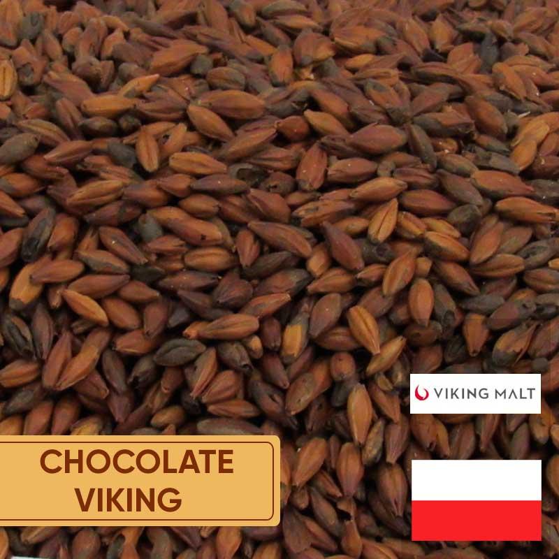 Malte Chocolate Dark Viking 800 A 1000 Ebc Kg