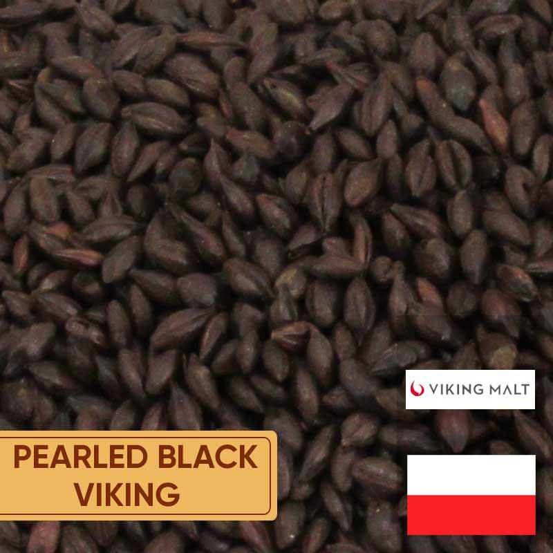 Malte Pearled Black Viking 800 A 1000 Ebc Kg