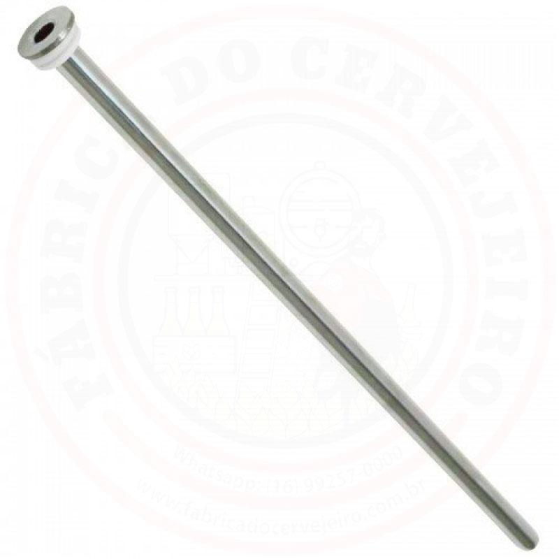 Poço Termométrico de 400mm em Inox 304