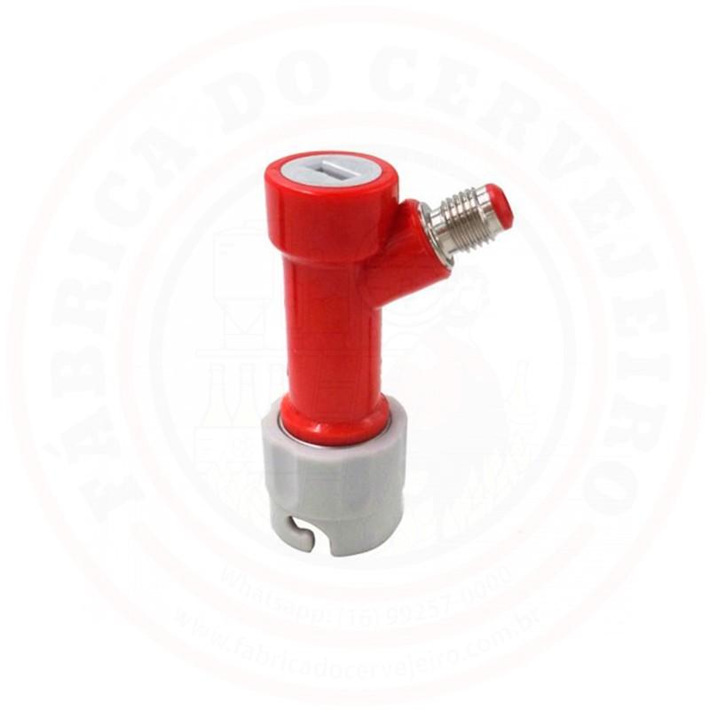 Pin Lock de Gás Cinza Rosca 7/16