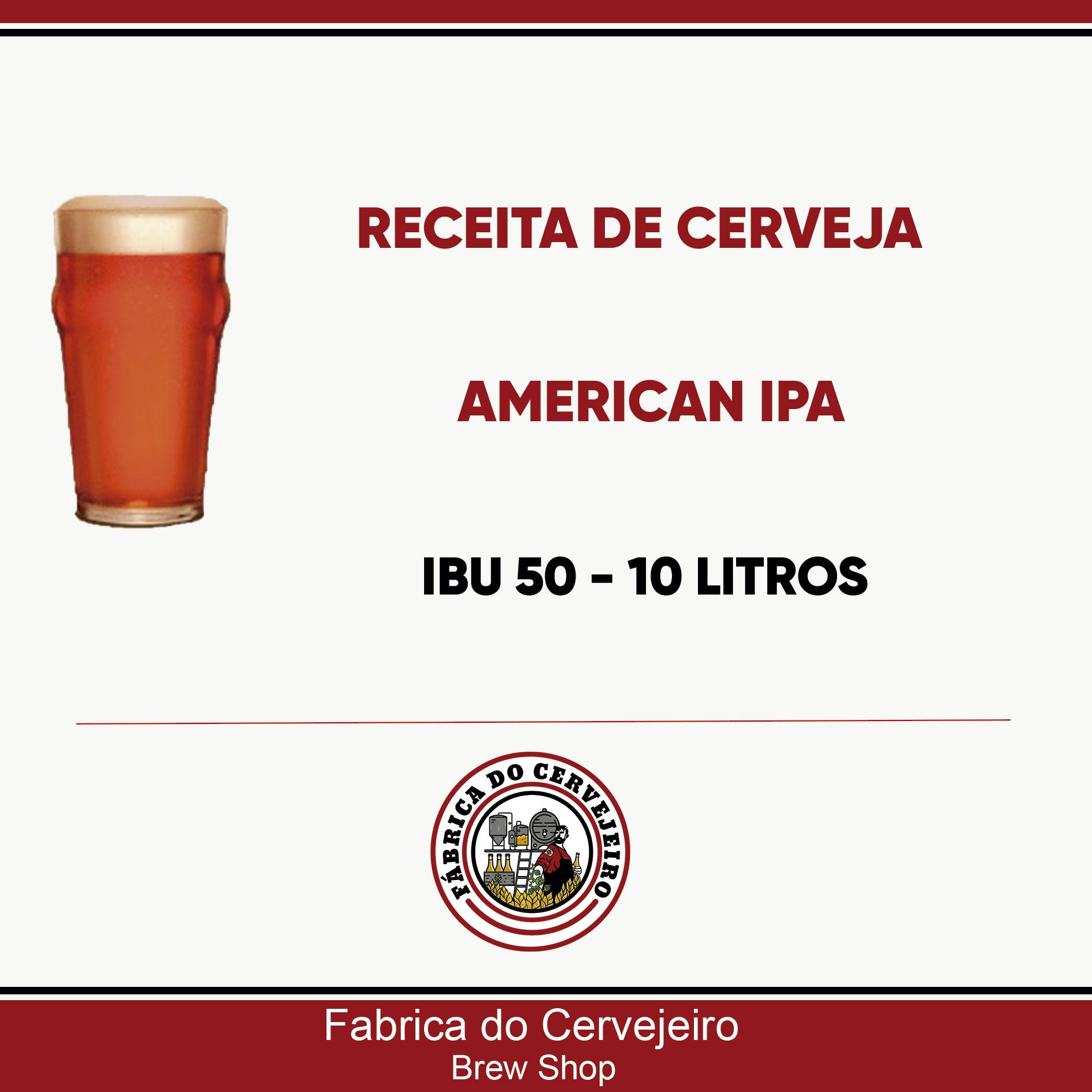Receita de American IPA 10 Litros