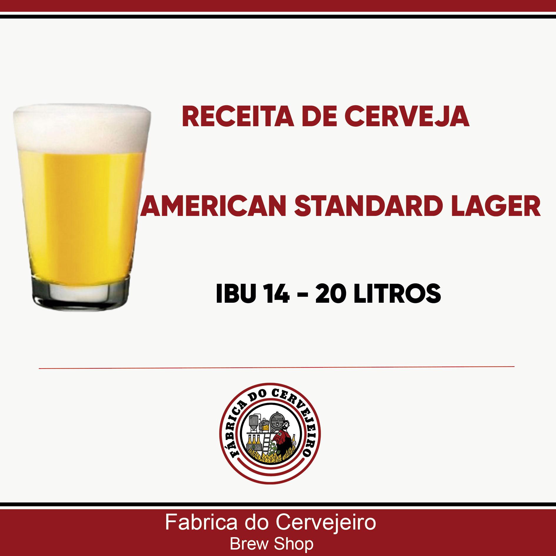Receita para 30 Litros de American Lager (Sugestão Heineken)!