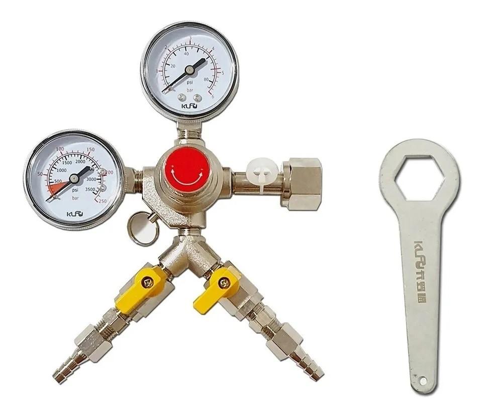 Regulador de Pressão com 2 Saídas KLF05-02 Importado