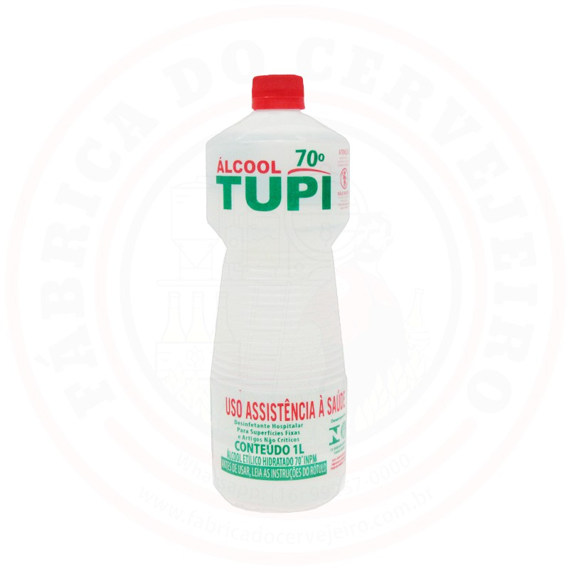 Sanitizante Álcool 70% Tupi 1 Litro