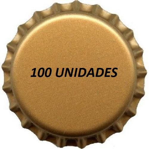 Tampinhas Pry Off Douradas 210g 100 Und