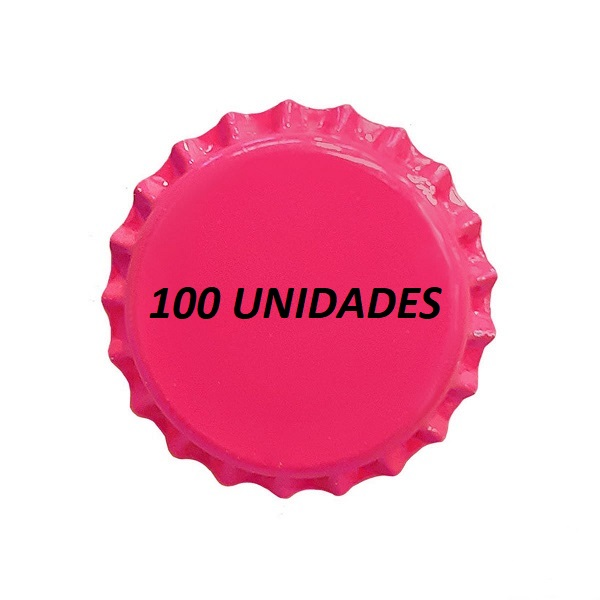 TAMPINHAS PRY OFF ROSA 210g 100 UND