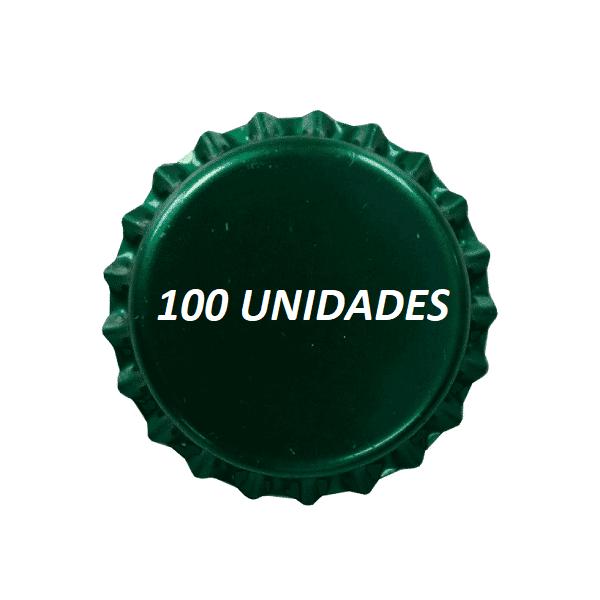 Tampinhas Pry Off Verde Escuro 210g 100 Und