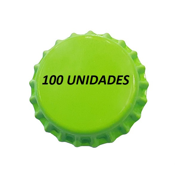 Tampinha Pry Off Verde claro 210g 100 Und