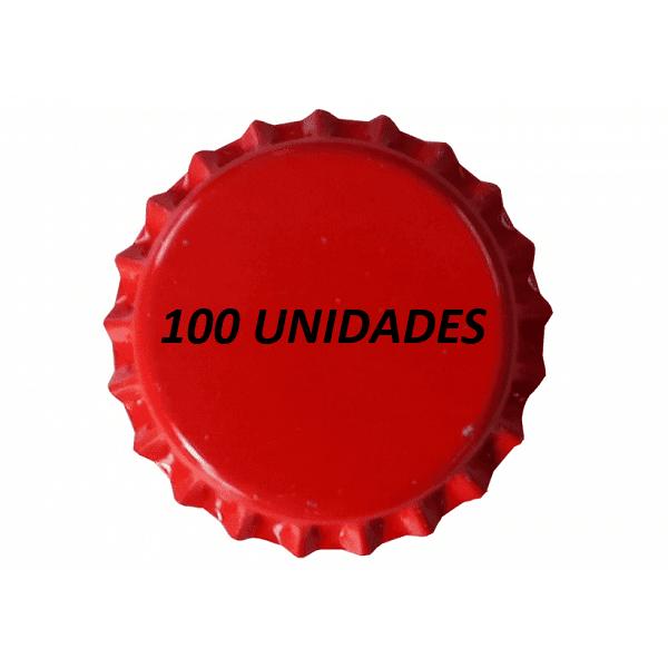 Tampinhas Pry Off Vermelhas 210g 100 Und