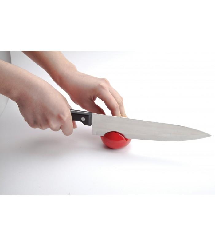 Afiador de Facas em Formato de Tomate