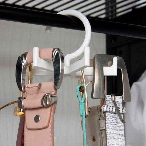 Cabide Organizador de Cintos Giratório