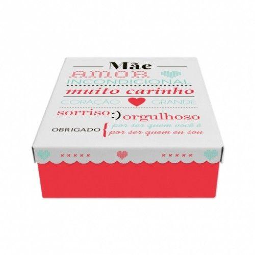 Caixa Mãe Amor Incondicional