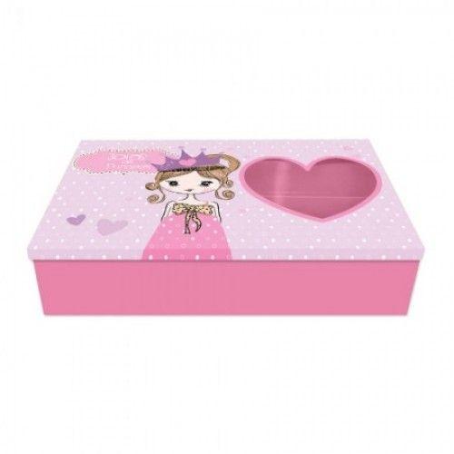 Caixa Organizadora de Bijuterias - Joias da Princesa