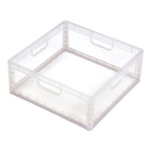 Caixa Organizadora De Brinquedos Baixo - Cristal