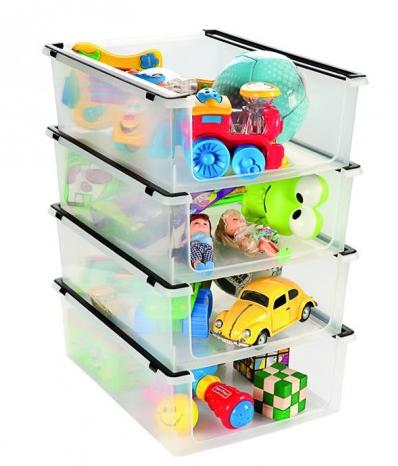 Caixa Organizadora De Plástico Multiuso