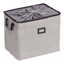 Caixa Organizadora Dobrável Cinza